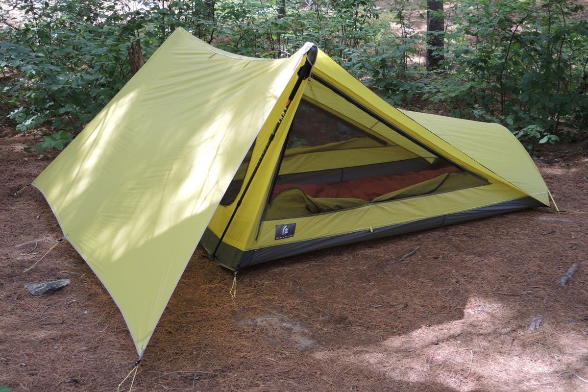 Sierra Design Tensegrity 2 Elite - The Tent That Killed the Tarp & Sierra Design Tensegrity 2 Elite