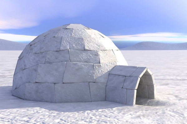 The igloo - time tested winter shelter