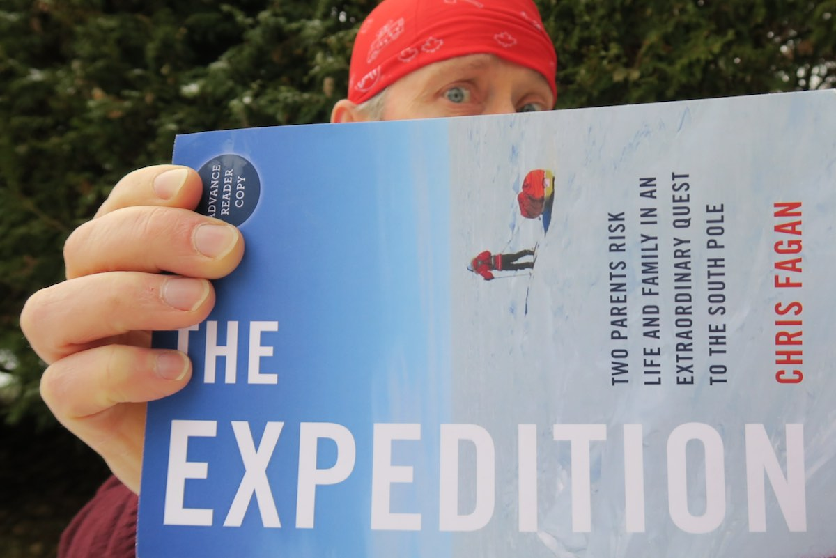 """The Expedition"" by Chris Fagan - Two parents risk life and family in an extraordinary quest to the south pole"